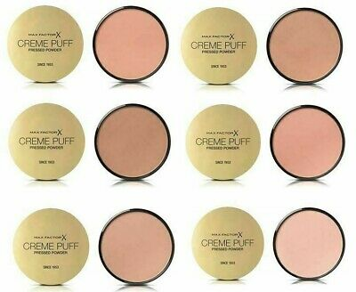 Max Factor Creme Puff Pressed Powder 21 g. Pick Your Shade Brand New