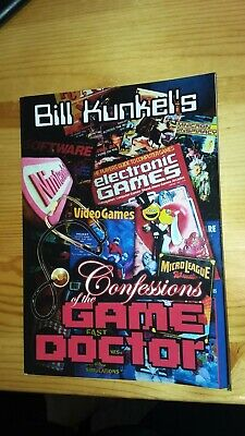 Confessions of the Game Doctor Bill Kunkel Electronic Games Magazine Rare Book