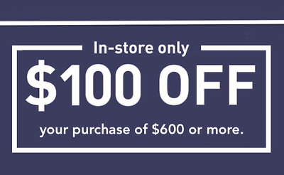 ONE 1X Lowes $100 OFF $600 Coupon Discount - IN STORE ONLY - Fast Shipment