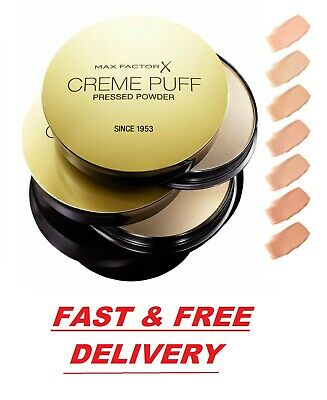 Max Factor Creme Puff Pressed Face Powder Compact 21g - *CHOOSE YOUR SHADE*