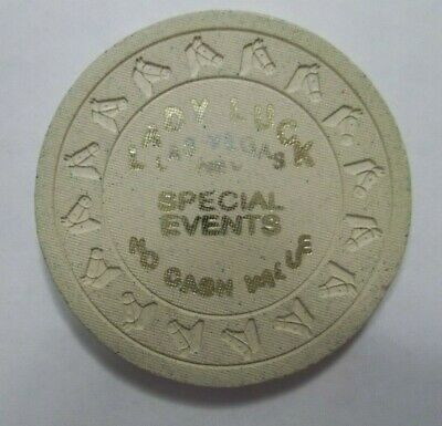 Lady Luck Special Events Casino Hotel Las Vegas Nv Poker Chip