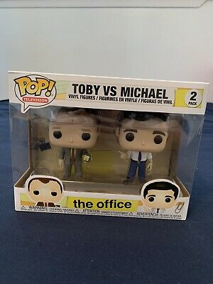 The Office Funko POP! Television Toby vs Michael 2-Pack - Slight Box Damage