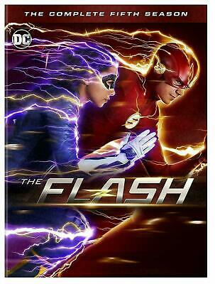 The Flash TV SERIES Complete Fifth Season 5 FIVE (DVD, 2019, 5-Disc set) NEW