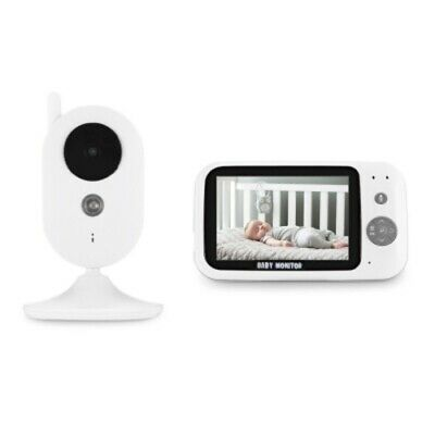 1/&Wireless 2.4 GHZ Digital Video Baby Monitor NightVision Temperature Monitoring