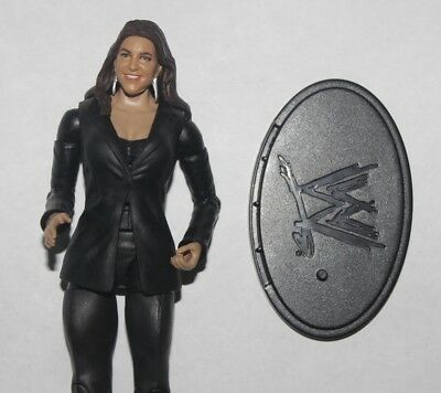 """Stephanie Mcmahon Wwe Basic Mattel 7"""" Figure In Good Condition! Raw Commissioner"""