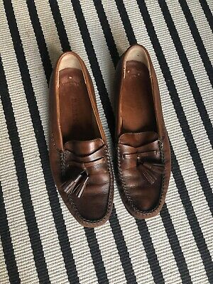 Bally Mens Tassel Loafers Size US 8D (fits 1/2-1 size smaller)