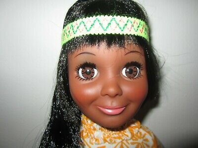 Rare Ideal Tressy AA Black Doll Crissy family no box original African American