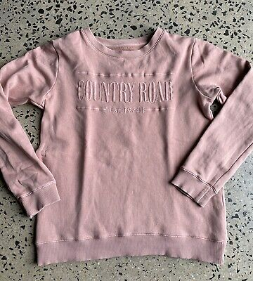 Girl's Country Road HERITAGE LOGO Sweat Size 12