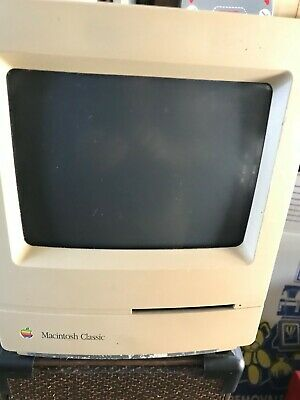 Macintosh Classic Vintage classic computer 1990 Working condition Free Postage