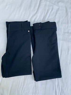 John Lewis Navy school trousers. Age 7 , 2 pairs, Excellent Used Condition