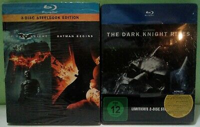 Steelbook Saga Batman The Dark Knight Blu Ray Audio Ita