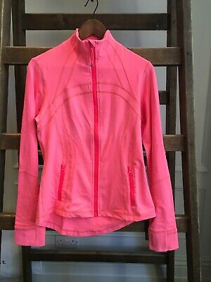 Hot Pink Lululemon Define Running Jacket. US 10
