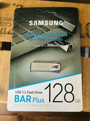 Cle Usb BAR Samsung 128 Go Memoire Flash 2.0 3.0 Key Neuf Tous Supports Stockage