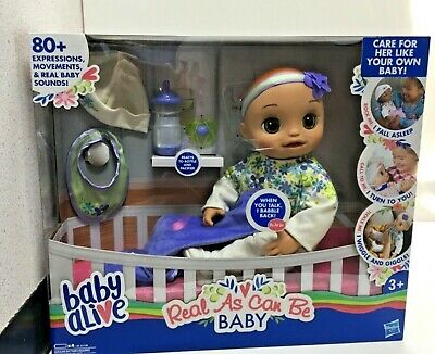 Baby Alive Real As Can Be Baby Blonde Sculpted Hair [Doll]