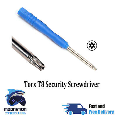 Torx T8 Opening Security Screwdriver XBOX One + 360 Controller Opening Tool