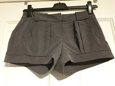 Excellent Condition New Look Generation Girls Grey Tailored Shorts Age 12