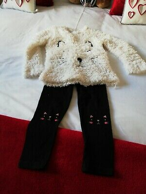 Girls leggings and jumper, Age 5/6