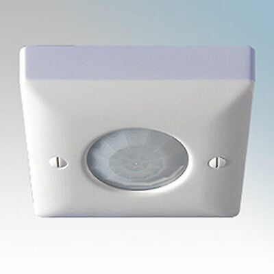 Danlers CESF PIR White Surface Mounted Ceiling 360° Passive Infrared PIR Switch
