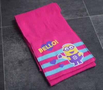 Fab Girls Minion Scarf Aged 8-12 Years - In Very Good Condition