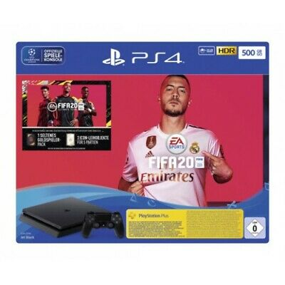 Sony Ps4 500Gb Spielekonsole Bundle Incl. Fifa20 Download Cuh-2216A