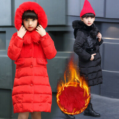 Kids Coat Girls Jacket Winter Padded Outerwear Fashion Coat Quilted Jacket