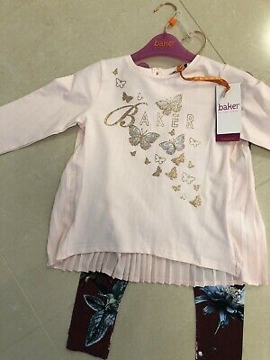 Brand New Ted Baker Girls Outfit Size 4-5 Years