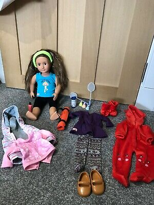 our generation doll - excellent condition, additional clothes / accessories