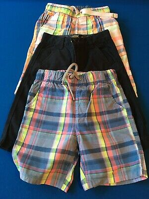 3 pairs of boys shorts age 7 & 8. Next & Mothercare