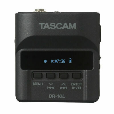 Tascam DR-10L Mono Portable Digital Audio Recorder + Lavalier Mic + Case DR10L