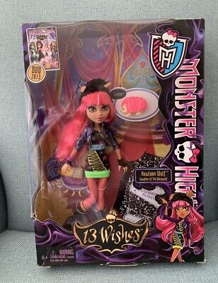 Monster High Doll Howleen Wolf 13 Wishes Edition