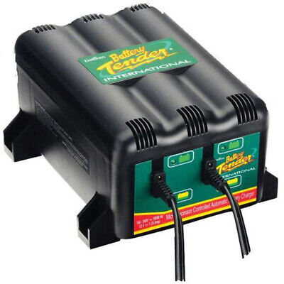 Battery Tender 2 Bank Charger 12 Volt 50-313684-1