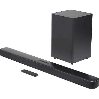 JBL Bar 2.1 Channel 300W Soundbar with Wireless Subwoofer