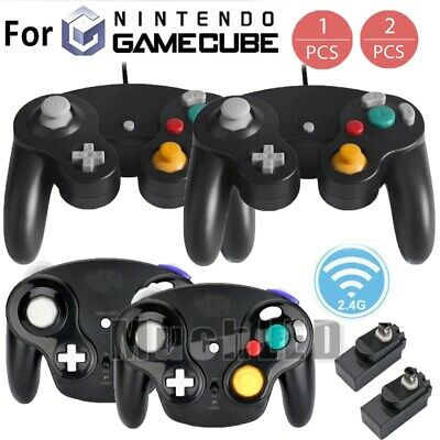 2019 Wireless Gamecube Controller Wavebird Style w/ Adapter for Nintendo NGC GC