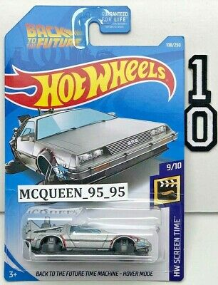 Hot Wheels 2019 Back To The Future Time Machine - Hover Mode
