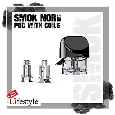 Smok Nord Replacement Pod + 2 Replacement Coils