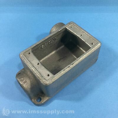 Crouse Hinds FSR 2 Cast Device Box, Condulet Series FNIP