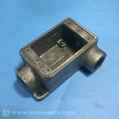 Crouse Hinds FSL 2 Cast Device Box, Condulet Series USIP