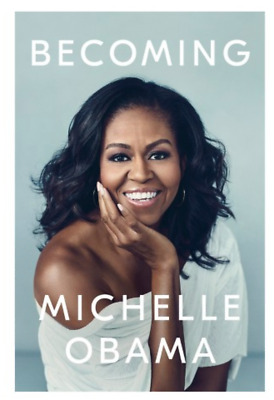Becoming, Autobiography by Michelle Obama - VG 2018 Hardcover