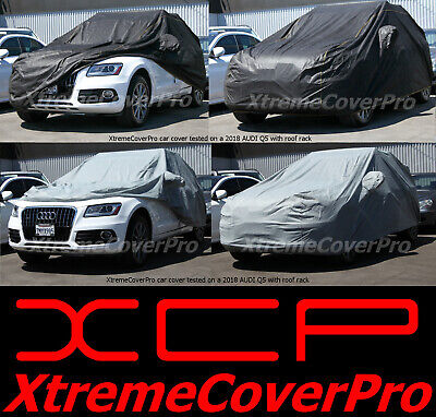 2012 2013 2014 2015 AUDI A7 S7 RS7 WATERPROOF CAR COVER W//MIRRORPOCKET BLACK