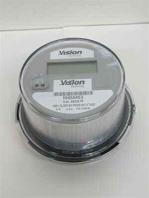 Vision Metering 2E2A1P, 240V CL200 Meter, 3W