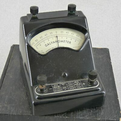 Vintage Sargent Welch 2732A Bakelite Galvanometer Free Shipping