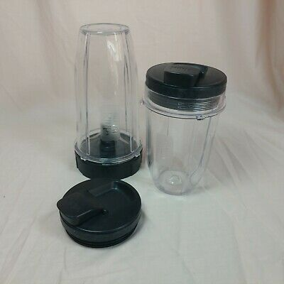 Nutra Ninja Blender Replacement Cups Blade lids