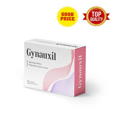 Gynauxil Vaginal Intimate Probiotics Anti Fungal Infections 10 Suppositories