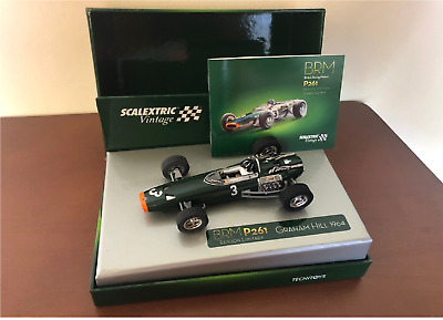 """FUERA STOCK SCX 6255 BRM F1-P261 """"VINTAGE"""" Graha Scalextric Tecnitoys  1/32  New"""