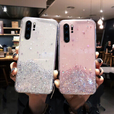 Soft Glitter Starry Phone Case for Samsung Galaxy Note 10 S10 9 S8 A70 A50 Cover