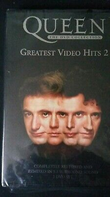 QUEEN - Complete Greatest Video Hits 2 - 2003 2-Disc New Sealed UK Region 2 DVD