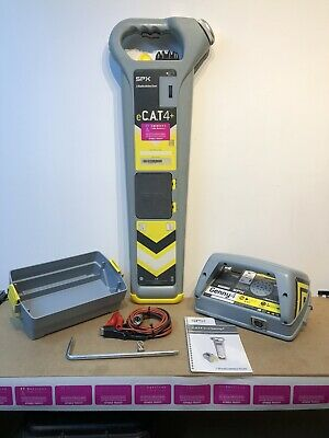 Radiodetection eCat4+ Depth Cable Avoidance Tool Genny4 12 Mths Cal 6 Mths Wrty