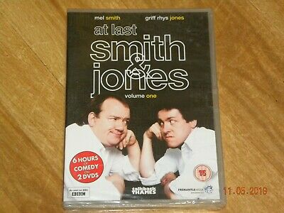 AT LAST SMITH AND JONES - Volume One (DVD 2-Disc Set) SEALED