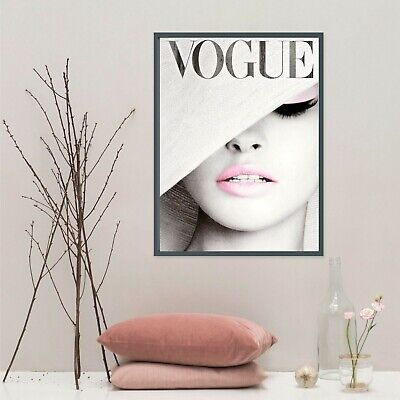 VOGUE COVER Poster - Fashion Wall Art - 1 FREE Print Included !