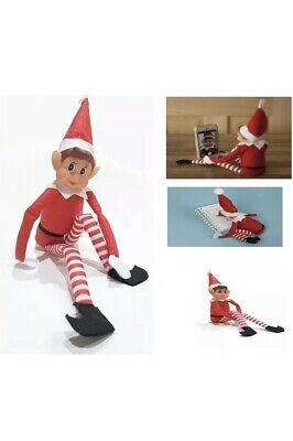 12 INCH CHRISTMAS ELVES BEHAVIN BADLY ELF RED NAUGHTY BOY brand new with tags